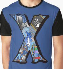 Doodle Letter X Graphic T-Shirt