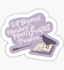 Wit Beyond Measure Aufkleber Sticker