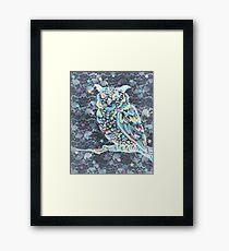 Lovely Night Owl Framed Print