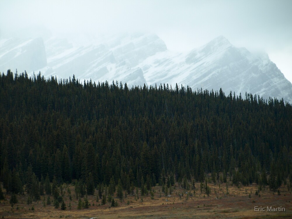 Wispy Mountains by Eric Martin