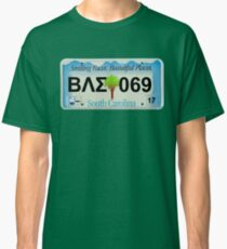 License Plate T-Shirt Classic T-Shirt