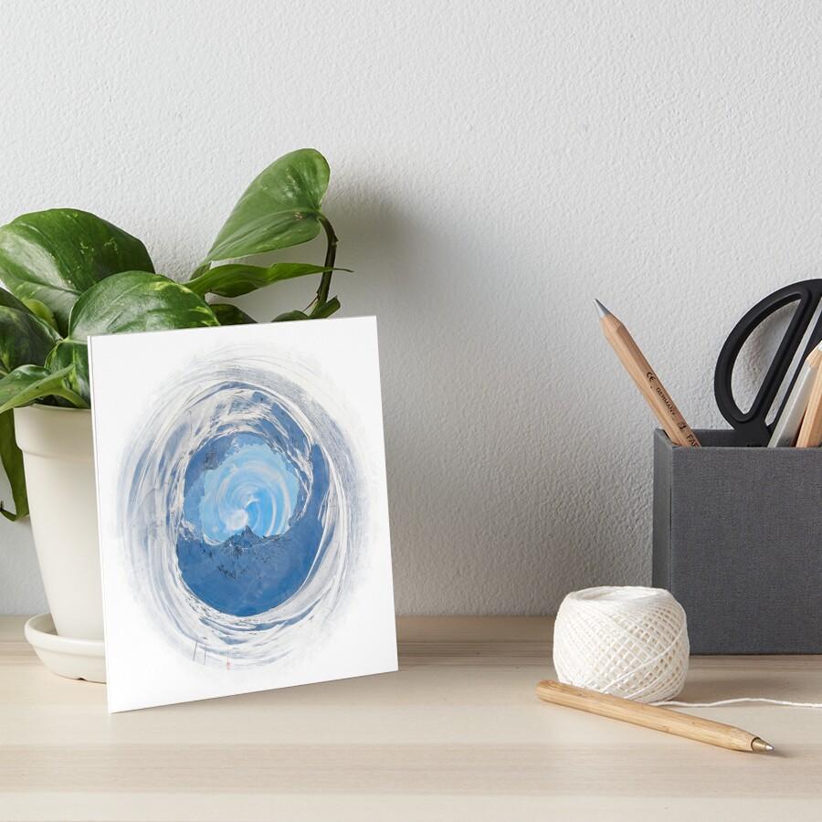 Winter World 6 Art Board Print
