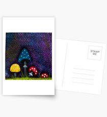 Mushrooms Postcards