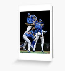 Cubs Win! Greeting Card