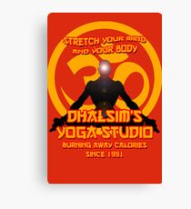 Dhalsims Yoga Studio Canvas Print