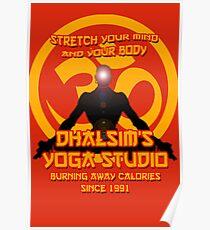 Dhalsims Yoga Studio Poster