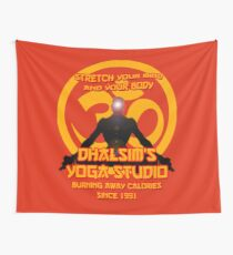 Dhalsims Yoga Studio Wall Tapestry
