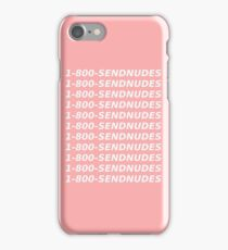 1 800 send nudes iPhone Case/Skin