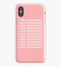 1 800 send nudes iPhone Case