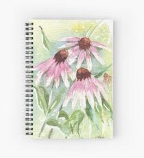Daisies for healing Spiral Notebook