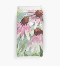 Daisies for healing Duvet Cover