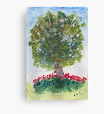 Lime Tree  Canvas Print