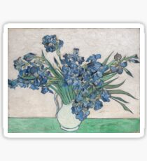 Van Gogh's Irises Sticker