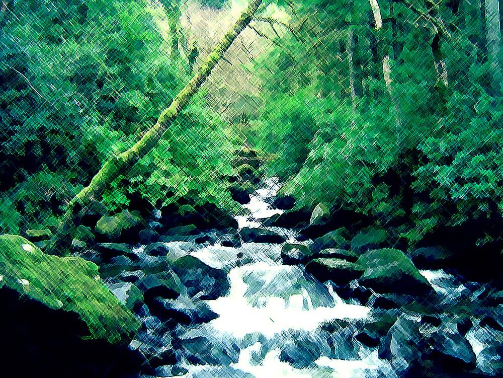 Forest Green by Geoffrey Wicking