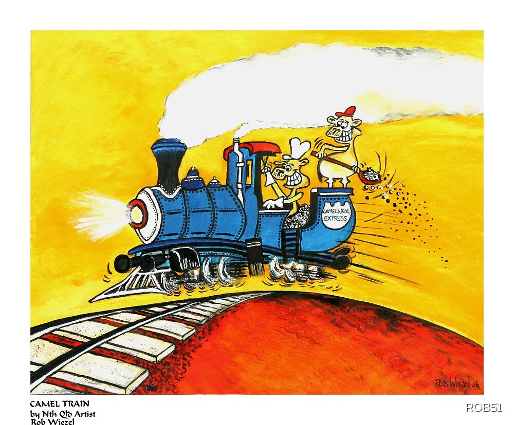 CAMEL TRAIN by ROB51