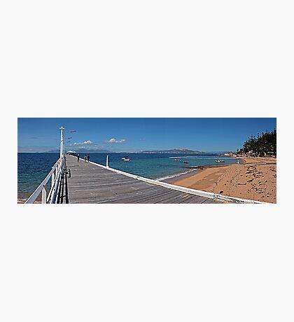 Picnic Bay Jetty and Swimming Enclosure Photographic Print