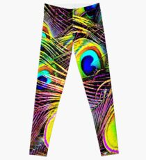 Blue Pac Man Leggings
