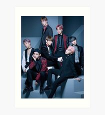 BTS- Group  Art Print