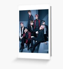 BTS-Gruppe Grußkarte