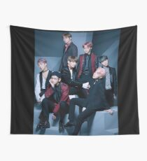 BTS- Group  Wall Tapestry