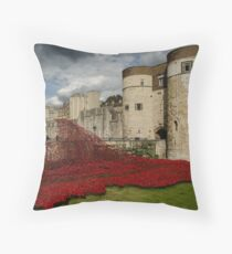 Tower of London Remembers Throw Pillow