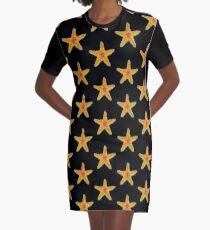 Love Starfish Graphic T-Shirt Dress