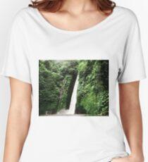 Umbrella Vs Waterfall Women's Relaxed Fit T-Shirt