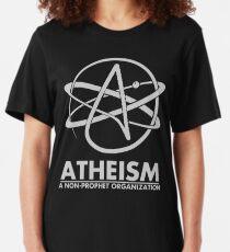 Atheism - A Non Prophet organization Slim Fit T-Shirt