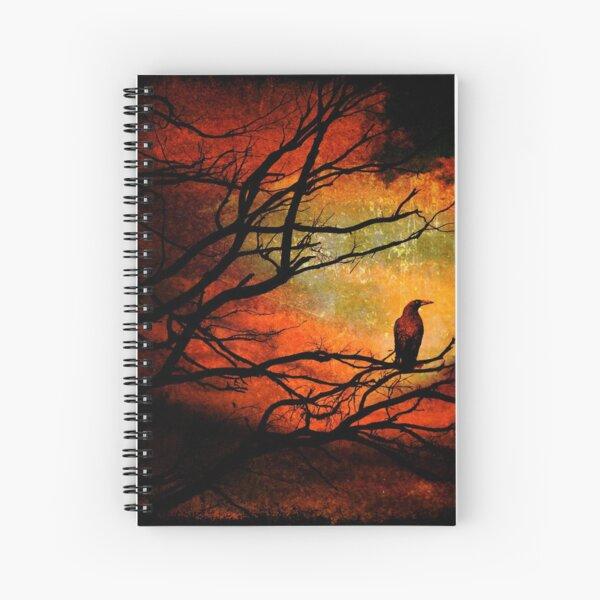 Basho's Crow Spiral Notebook