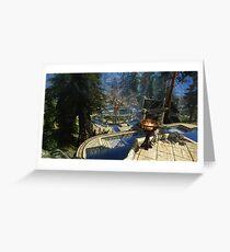 Whiterun HD Greeting Card