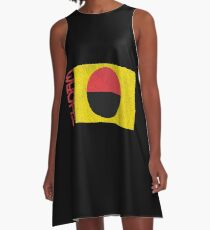 Flag of CHOAM - Dune  A-Line Dress