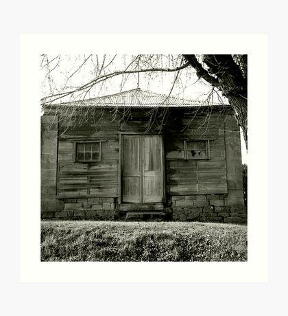 Timber cottage near Maldon Art Print