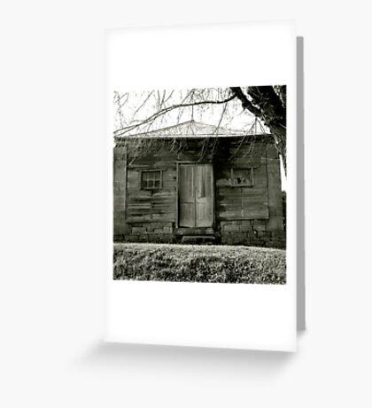 Timber cottage near Maldon Greeting Card