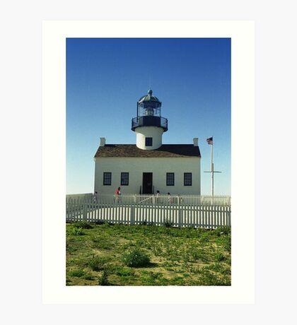 Lighthouse, San Diego Art Print