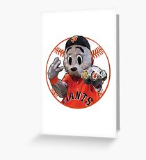 Lou Seal, Low Poly Style Greeting Card