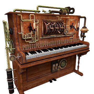 Steampunk Piano von Reubsaet