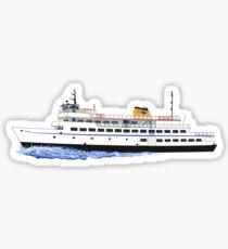 Block Island Ferry - the Carol Jean Sticker