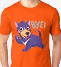 Bye dog shirt pixel distortion T-Shirt