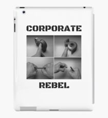 Corporate Rebel iPad Case/Skin