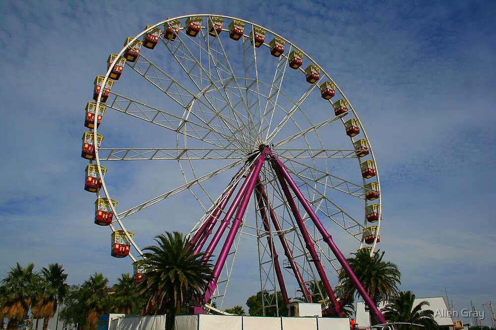 Ferris Wheel by Allen Gray