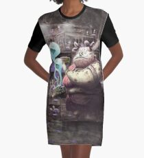 Dame Dulce (dead edition) Graphic T-Shirt Dress