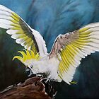 Aussie Cockatoo by Elisabeth Dubois