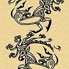 SCYTHIAN DEER TATTOO II by Sheridon Rayment