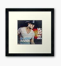 Tim McGraw Shot Gun Rider Framed Print