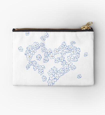 Forget-me-not Studio Clutch