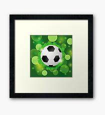 sport ball Framed Print