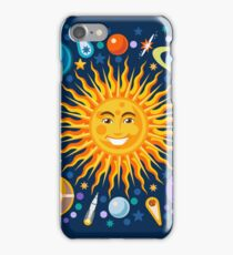 Funny Solar System Isometric iPhone Case/Skin