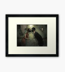 Punk Love Framed Print