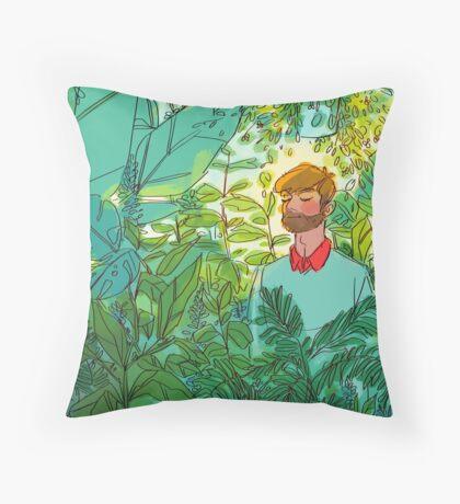 Rainforest Room Throw Pillow