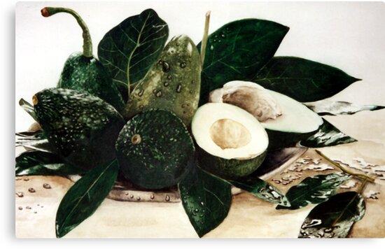 Avocados by RainbowDesign